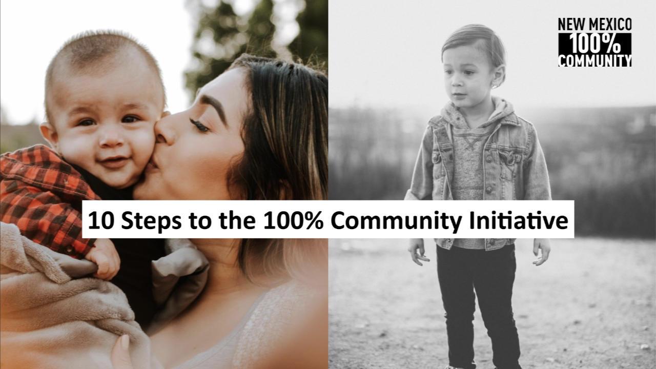 10 Steps to a successful 100% Community initiative