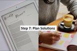 Step 7: Planning