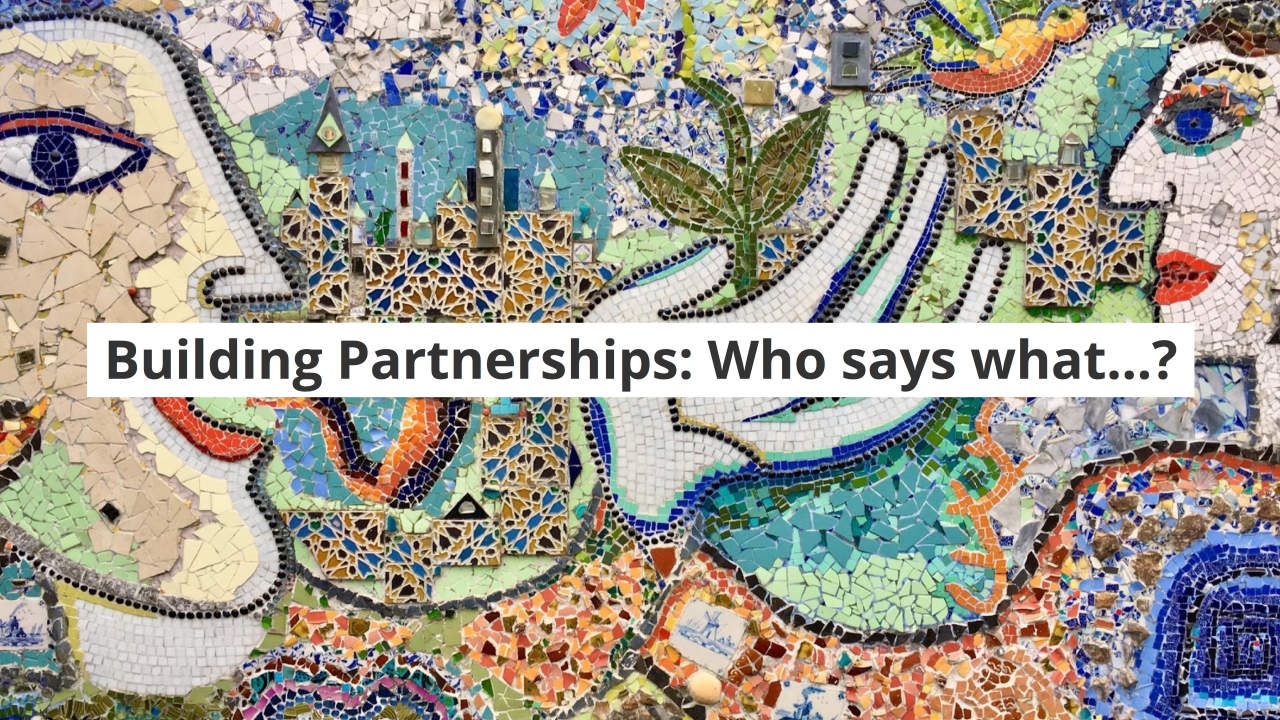 Course – Lesson 6: I. Partner to Build Relationships